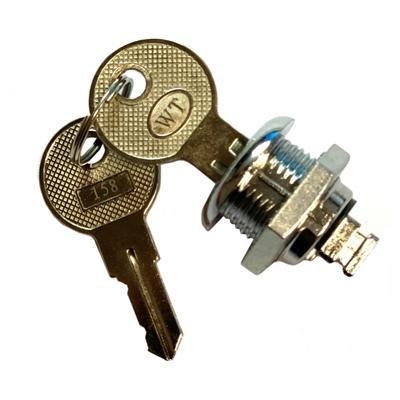 iggual Cerrojo + llaves cajones portamonedas IRON - Imagen 1