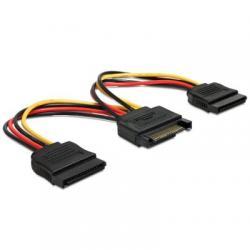 Delock Cable Alimentacion 1 SATA A 2 SATA - Imagen 1