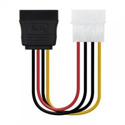 Nanocable Cable SATA, Molex M-SATA/H, 16cm - Imagen 1