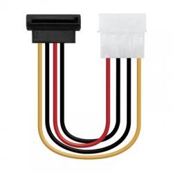 Nanocable Cable SATA acodado, Molex M-SATA/H, 16cm - Imagen 1