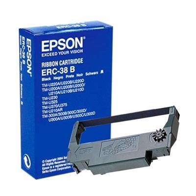 Epson Cinta ERC-38B Negro TMU200/U300 - Imagen 1