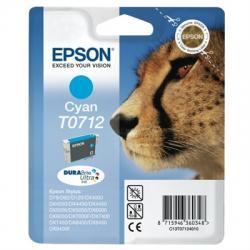 Epson Cartucho T0712 Cyan - Imagen 1
