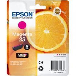 Epson Cartucho T3343 Magenta - Imagen 1
