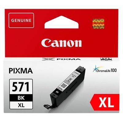 Canon Cartucho CLI-571BK XL Negro - Imagen 1