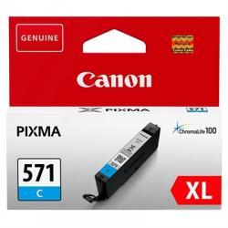 Canon Cartucho CLI-571CY XL Cian - Imagen 1