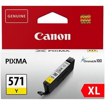 Canon Cartucho CLI-571YL XL Amarillo - Imagen 1