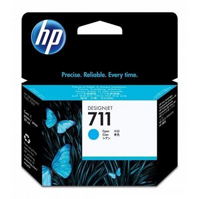 HP Cartucho 711 Cyan - Imagen 1