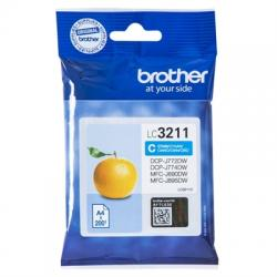 Brother Cartucho LC3211C Cyan  Blister - Imagen 1