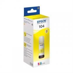 Epson Botella Tinta Ecotank 104 Amarillo 70ml - Imagen 1