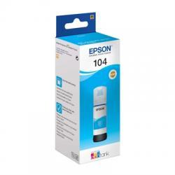 Epson Botella Tinta Ecotank 104 Cyan 70ml - Imagen 1