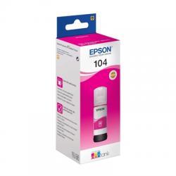Epson Botella Tinta Ecotank 104 Magenta 70ml - Imagen 1