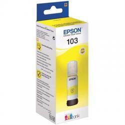 Epson Botella Tinta Ecotank 103 Amarillo 70ml - Imagen 1