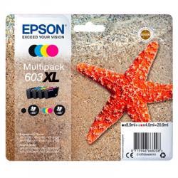 Epson Cartucho Multipack 603XL 4 Colores - Imagen 1