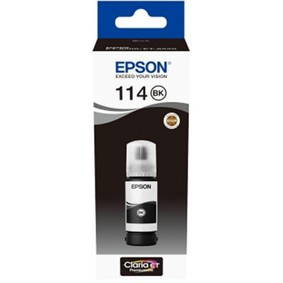 Epson Botella Tinta Ecotank 114 Negro 70ml - Imagen 1