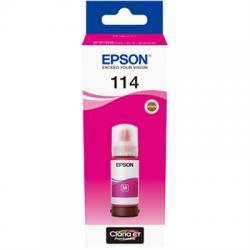 Epson Botella Tinta Ecotank 114 Magenta 70ml - Imagen 1