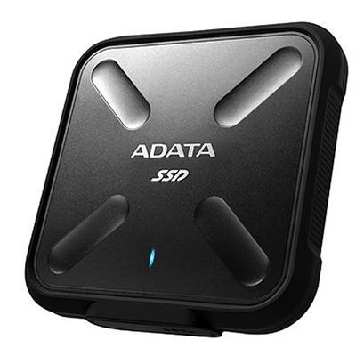 ADATA SD700 SSD Externo 512GB MIL-STD IP68 Negro - Imagen 1
