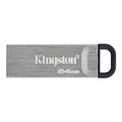 Kingston DataTraveler DTKN 64GB USB 3.2 Gen1 Plata - Imagen 1