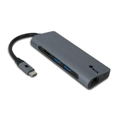 NGS Adaptador 7to1 USB-C WONDER DOCK7 - Imagen 1