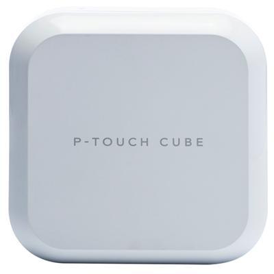 Brother Rotuladora Electrica PTP710BT Cube Blanca - Imagen 1