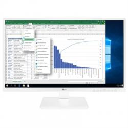 "LG 24BK550Y-W Monitor 23.8"" VGA DVI DP HDMI MM AA - Imagen 1"