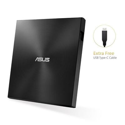 Asus DVD-RW SDRW-08U9M-U Slim Negra USB 13.9mm - Imagen 1