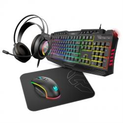 Krom Kit Teclado+Ratón Gaming RGB Kritic SP - Imagen 1