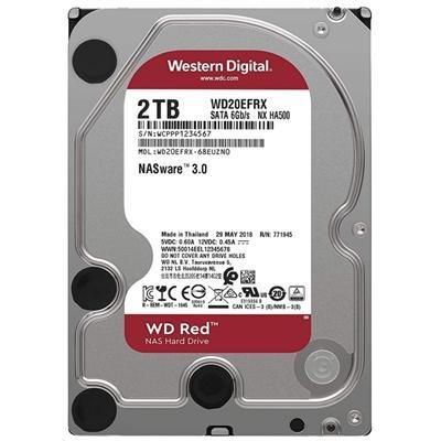 Western Digital WD20EFAX 2TB SATA3  Red - Imagen 1