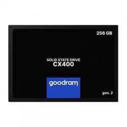 """Goodram SSD 256GB 2.5"""" SATA3 CX400 GEN.2 - Imagen 1"""