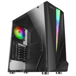 Mars Gaming Caja Atx MCL black dual glass rgb - Imagen 1