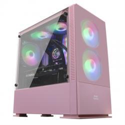 Mars Gaming Caja MCZ PREMIUM M-ATX 2X FRGB Rosa - Imagen 1