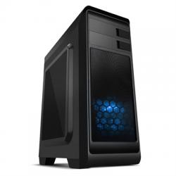 Nox Caja Semitorre ATX MODUS AZUL USB 3.0 - Imagen 1