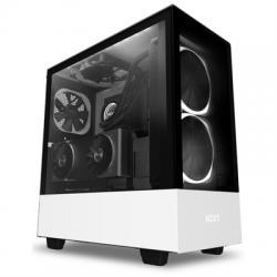NZXT Caja SemiTorre H510 Elite Led RGB Blanco - Imagen 1