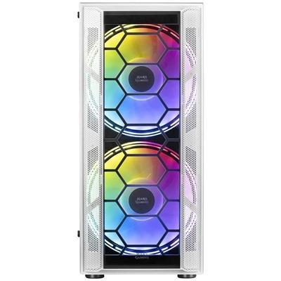 Mars Gaming Caja ATX MC500 FRGB WHITE - Imagen 1