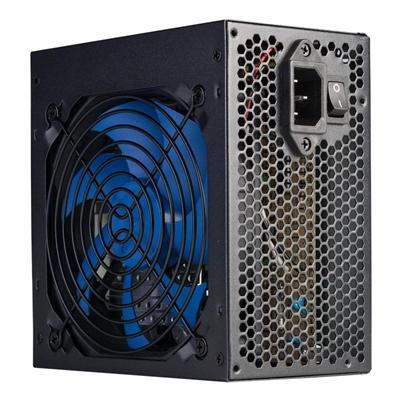 Hiditec Fuente Al.SX 500W 60 Black 120mm fan - Imagen 1