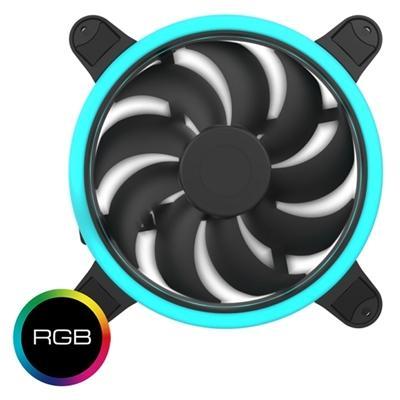 Hiditec Ventilador Gaming 120MM RGB OEM - Imagen 1