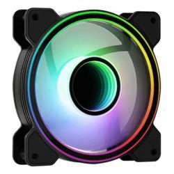 Aerocool Ventilador Infinity Mirror 12CM ARGB - Imagen 1