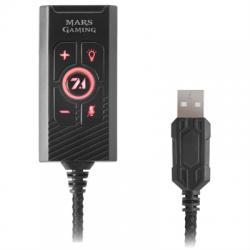 Mars Gaming Tarjeta sonido 7.1 MSC2 USB Multiplat. - Imagen 1