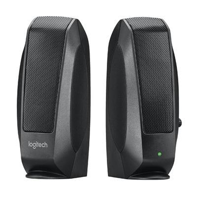 Logitech Altavoz 2.0 S120 Negro OEM - Imagen 1