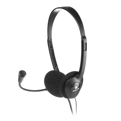 NGS Auricular/Micrófono con regulador MS-103 - Imagen 1