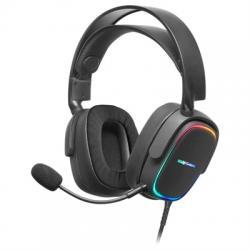 Mars Gaming MHAX BLACK rgb headphones - Imagen 1