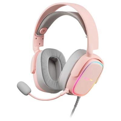 Mars Gaming MHAXP PINK rgb headphones - Imagen 1
