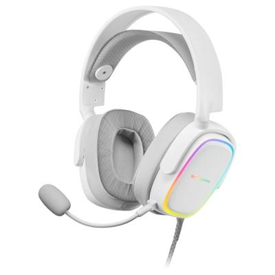 Mars Gaming MHAXW WHITE rgb headphones - Imagen 1