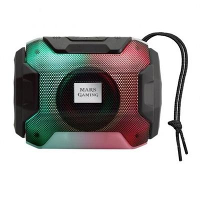 Mars Gaming Altavoz BLUETOOTH RGB MSBAX 10W BLACK - Imagen 1