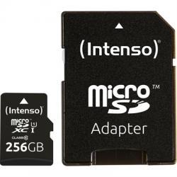 Intenso 3423492 Micro SD UHS-I Premium 256G c/adap - Imagen 1