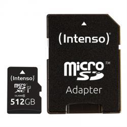 Intenso 3423493 Micro SD UHS-I Premium 512G c/adap - Imagen 1