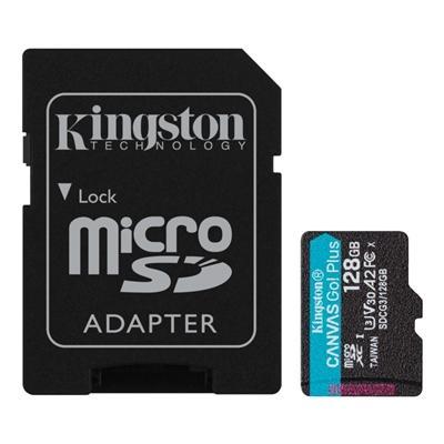 Kingston SDCG3/128GB microSD XC clase 10 128GB c/a - Imagen 1