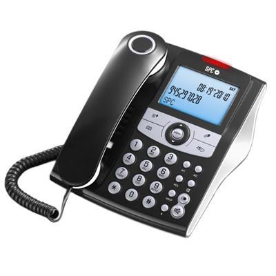 SPC 3804N Telefono ELEGANCE ID 70M ML ID LCD Negro - Imagen 1
