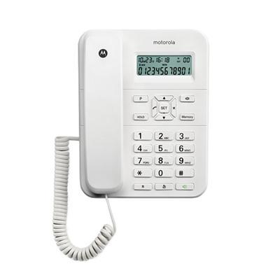 MOTOROLA CT202 Telefono ML ID LCD Blanco - Imagen 1