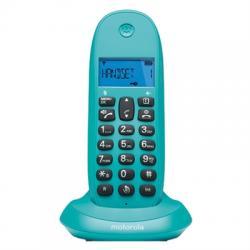 MOTOROLA C1001 LB+ Telefono DECT Turquesa - Imagen 1