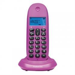 MOTOROLA C1001 LB+ Telefono DECT Violeta - Imagen 1